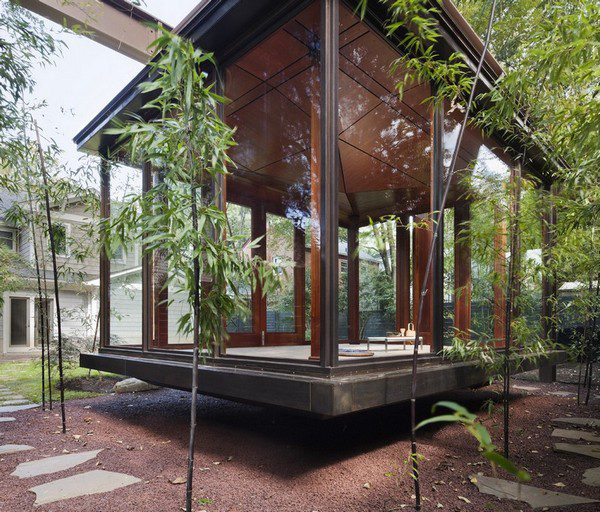 The Hanging Tea House