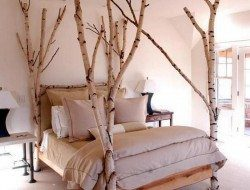 Click LIKE if you love this bedroom setting!  Would you use nature as an inspiration for your bedroom, or do you think using trees indoor just seems weird?  Let us know in the comments section!