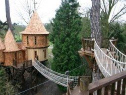 Fairytale treehouse Front View