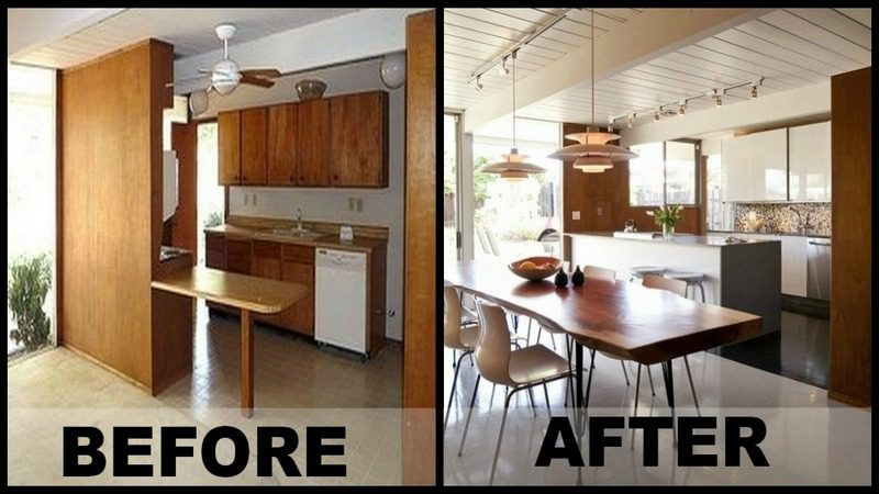 Before & After: 1960's Kitchen Reno