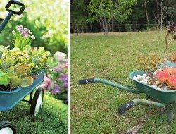 We have portable phones and portable DVD players, so why not a portable garden?