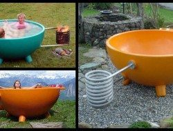 Hot tub anyone? Could you use one of these in your backyard?