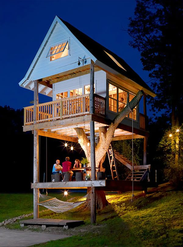 Camp Treehouse - Camp Wandawega