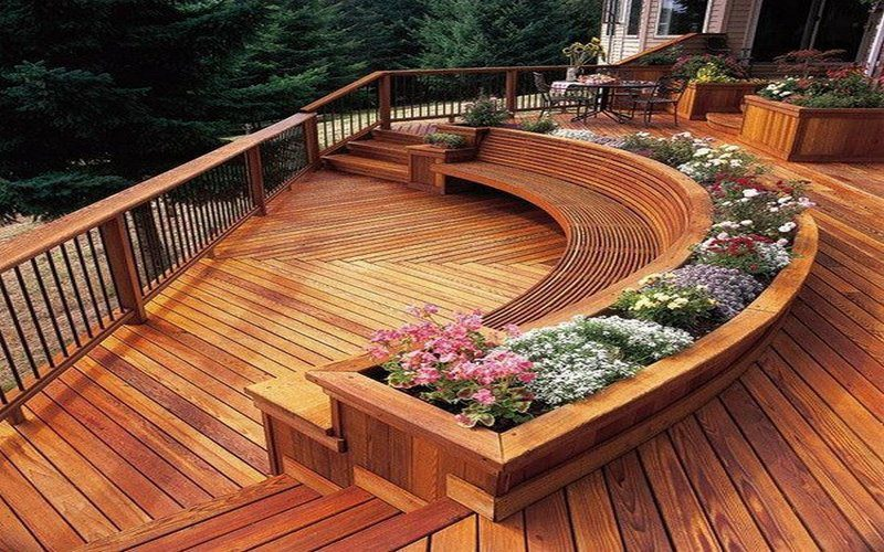 Decks – something for every taste and every style of home…