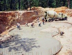 Start with a massive excavation...