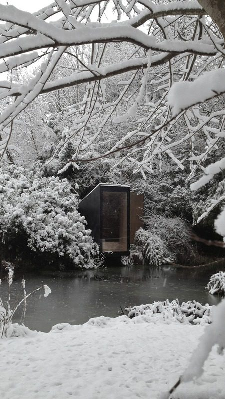 Forest Pond House - a meditation space and playhouse