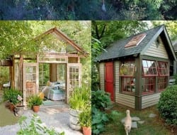 Shedworking! Here are 50 sheds to inspire you to chuck it all in and become a shedworker...