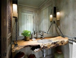 The ultimate rustic look