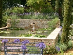 Is it a water feature, or a dry stone wall?  Tell us what you think.