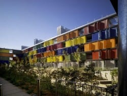 Public housing in Carabanchel - Madrid, Spain