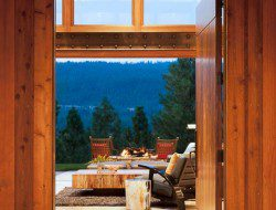 Massive doors open from the main living areas to give access to the great outdoors!