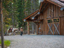 Headwaters Camp Barn - South Central Montana