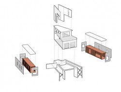 Shipping Container House - Plan 2