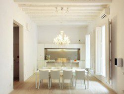 A 500-Year old cloister becomes an apartment In Barcelona Spain
