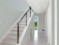 The First Container Home in the Hamptons - Staircase and Hallway
