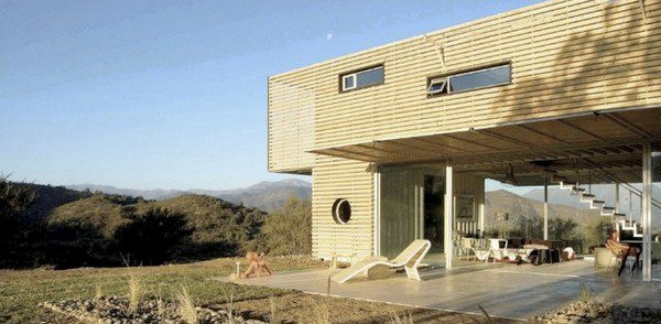Discarded Pallets and Containers = One Significant Home!