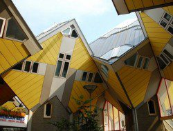 Cubic Houses by Piet Blom - Rotterdam, Netherlands
