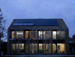 France's First Passivhaus - Bessancourt, France