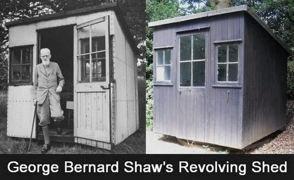 George Bernard Shaw's Rotating Shed