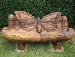 How cool is this? On a scale of 1 to 10 (10 being the highest) how would YOU rate this butterfly bench?