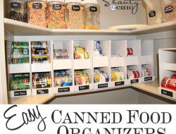 16. Easy Canned Food Storage - Shanty 2 Chic