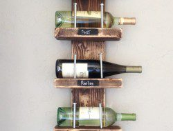 6. Wine Rack – DIY - Shanty 2 Chic