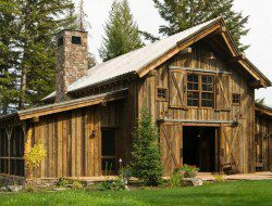 Montana Mountain Retreat Barn - Heritage Barns