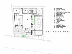 U3 House - First floor plan