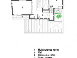 U3 House - Second floor plan