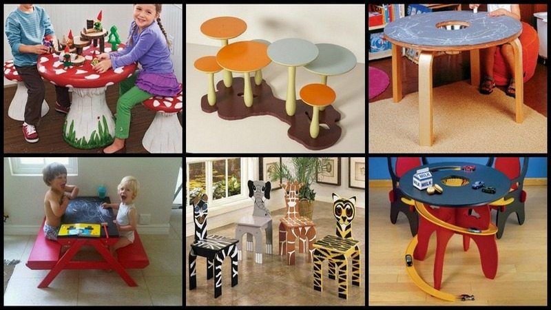 Table Furniture for Kids...