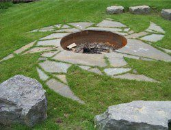 Art or fire pit? Click 'like' if you do! Comment if you have an opinion.