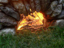 The Ring of Fire is vented to draw air in beneath the fire. The effectiveness is obvious. Where will you build yours?