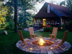 A lovely setting for an evening with friends?