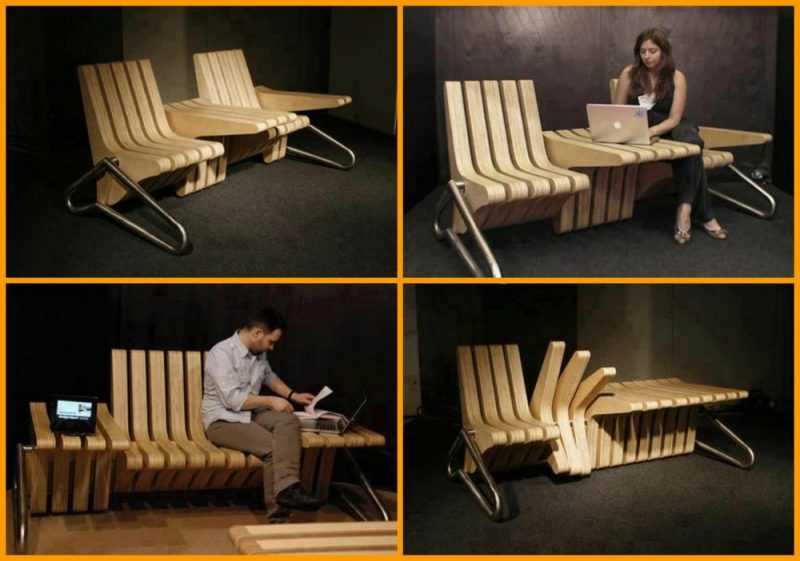 Isn't this a clever piece of space saving furniture? There's more where it came from.