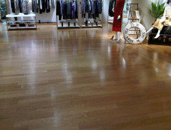 Durability - vinyl flooring in a commercial setting