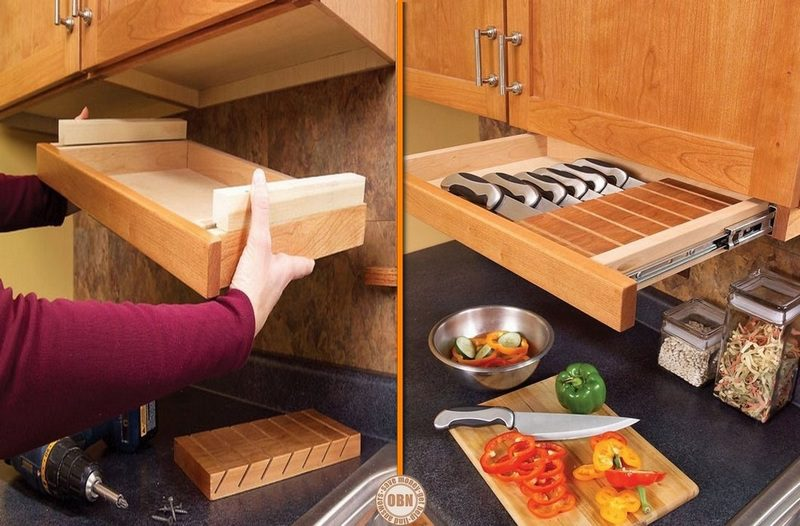 Clever Ideas For Storing Your Kitchen Knives