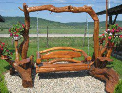 Rustic Swings