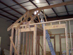 DIY Tiny Cottage - Roof rafters