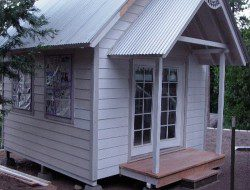DIY Tiny Cottage - Side View