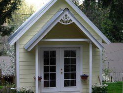 DIY Tiny Cottage - Front View