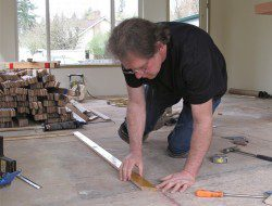 DIY Reclaimed Wood Flooring - Measurement