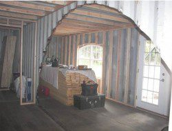 DIY Shipping Container Home - Interior