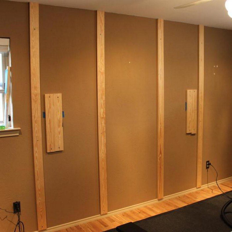 DIY Wood Wall Accent