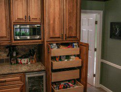 Pantry Cabinet Ideas - Rustic Cabinet