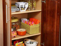 Pantry Cabinet Ideas - Wooden Cabinet