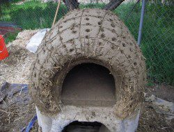 DIY Cob Oven - Shaping