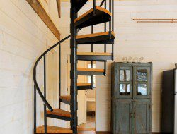 Winter Cabin - Staircase