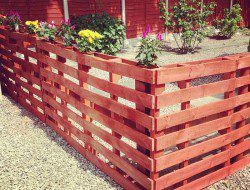 Recycled Pallet Fence - John Charles Taylor
