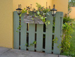 Pallet Fence - Camelot Art Creations
