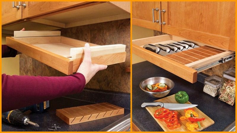 DIY Under-Cabinet Drawer